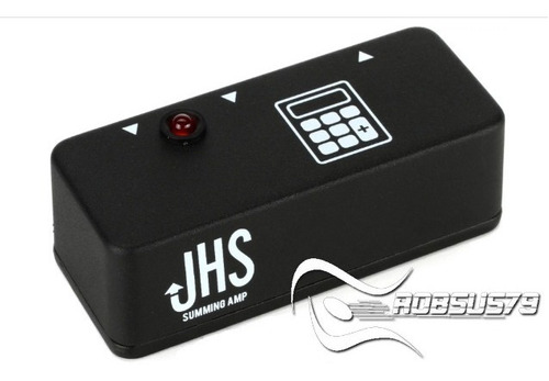 pedal jhs summing amp dual in single out c/ nf-e & garantia