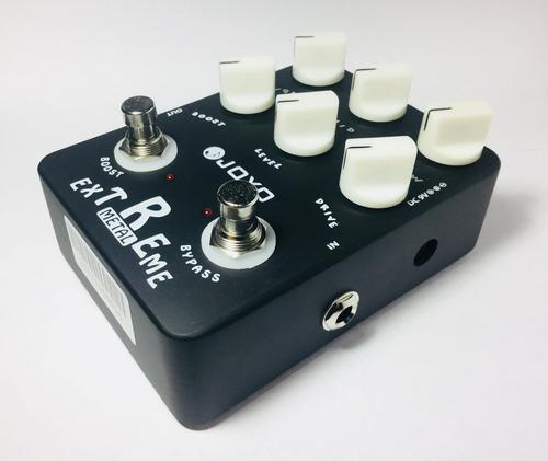 pedal joyo extreme metal jf-17 guitarra bajo zone core muff