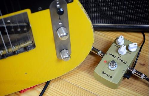 pedal joyo hot plexi distorsión overdrive marshall plexi