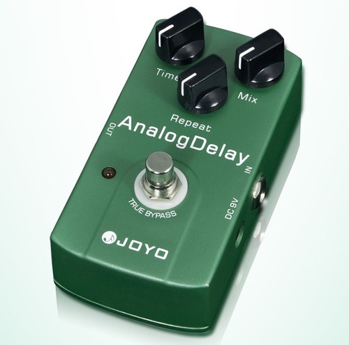 pedal joyo jf33 analog delay para guitarra true by pass
