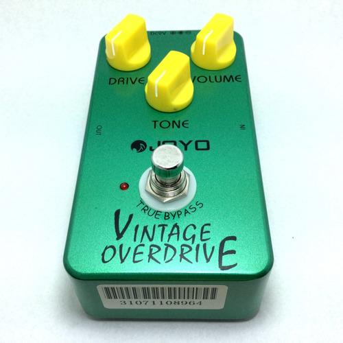 pedal joyo vintage overdrive jf-01 guitarra bajo screamer