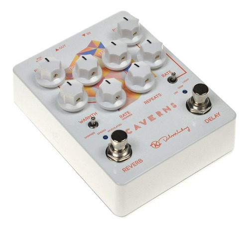 pedal keeley caverns delay reverb v2 made in usa