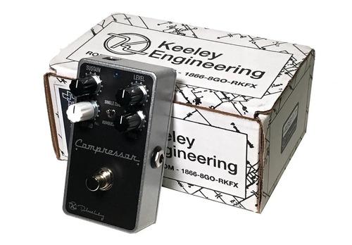 pedal keeley compressor plus 4 knobs c/ nf-e & garantia