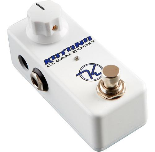pedal keeley  katana clean boost mini c/ nf-e & garantia