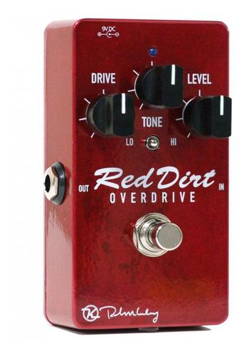 pedal keeley red dirt overdrive c/ nfe & garantia