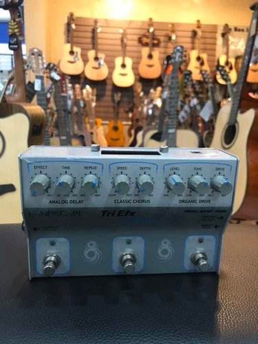 pedal landscape triefx guitar semi-novo