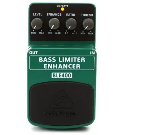 pedal limiter enhancer baixo behringer ble400