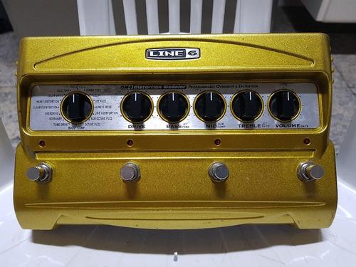 pedal line 6 dm4 16 efeitos, drive, dist, boost, comp e mais