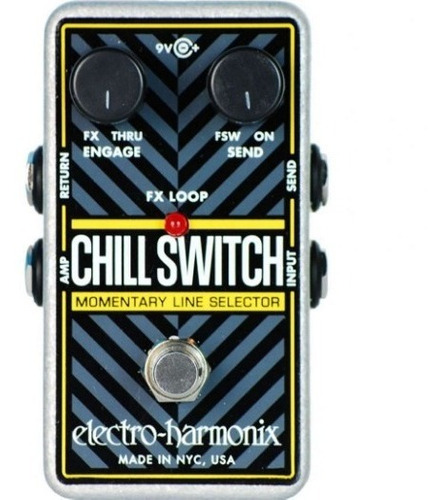 pedal line selector electro harmonix chillswitch