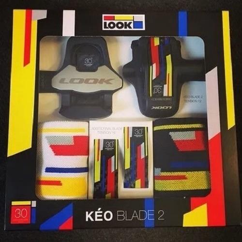 pedal look keo blade 2 carbon ti 12/16 nm 30th anniversary