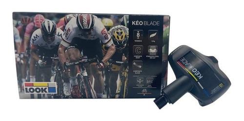 pedal look kéo blade  black 12nm c/ tacos , speed