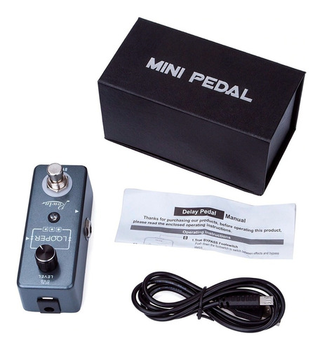 pedal loop rowin mini looper lef-332