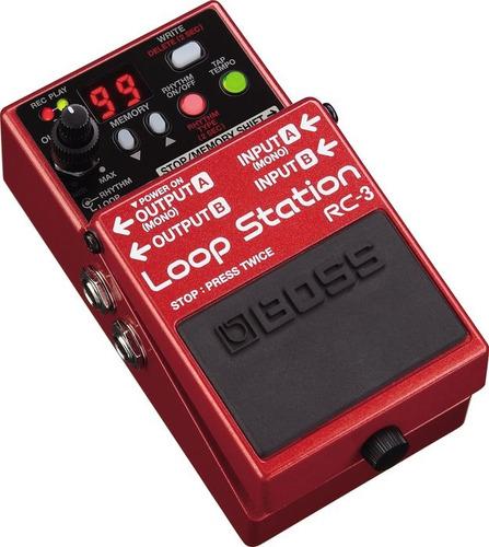 pedal looper boss rc-3 loop station - entrega inmediata