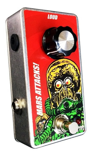 pedal mars attacks! clean boost booster monstro effects