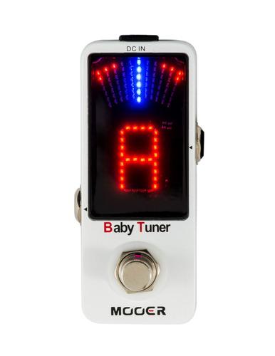 pedal mooer afinador baby tuner