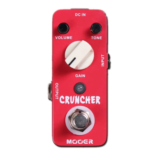 pedal mooer cruncher distorsion