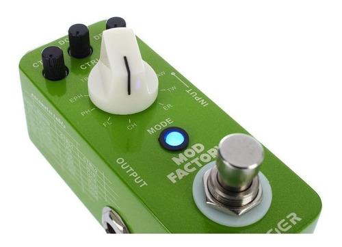 pedal mooer mod factory modulador 11 efectos 32 bits cuotas