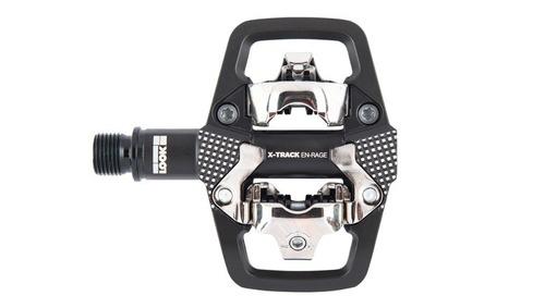 pedal mtb  look x-track en-rage preto trail / enduro