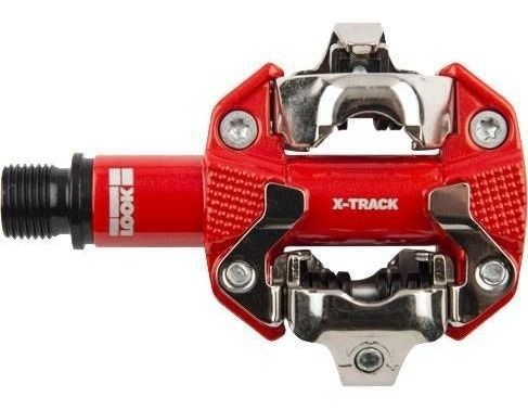 pedal mtb look x-track vermelho