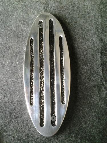 pedal muerto cuarto pedal ovalo , aluminio , universal