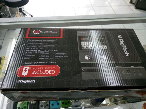 pedal multi-efectos con pedal expression digitech element xp