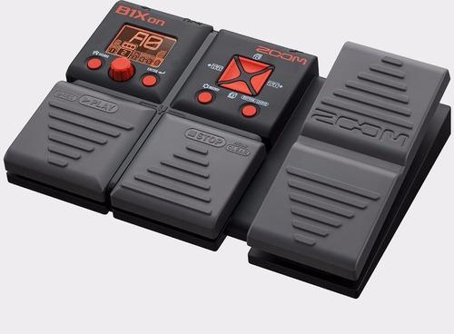pedal multi-efectos zoom b1xon para bajo eléctrico