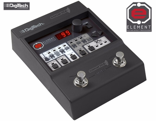 pedal multiefectos para guitarra digitech element