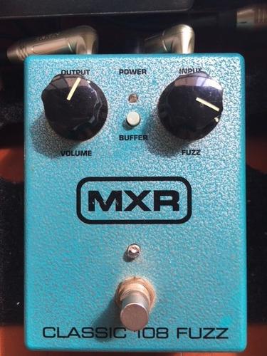pedal mxr classic 108 fuzz dunlop - m -173