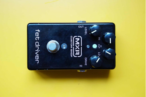 pedal mxr custom shop fet driver joe bonamassa