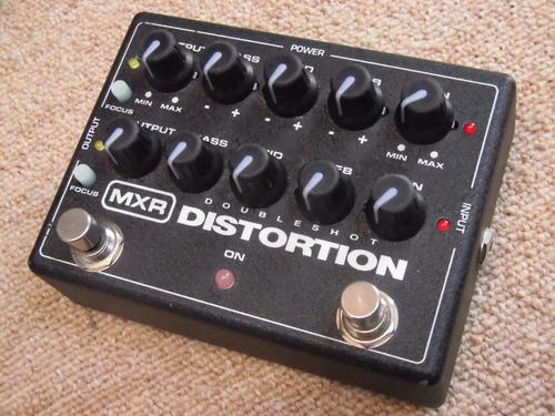 pedal mxr doubleshot distortion