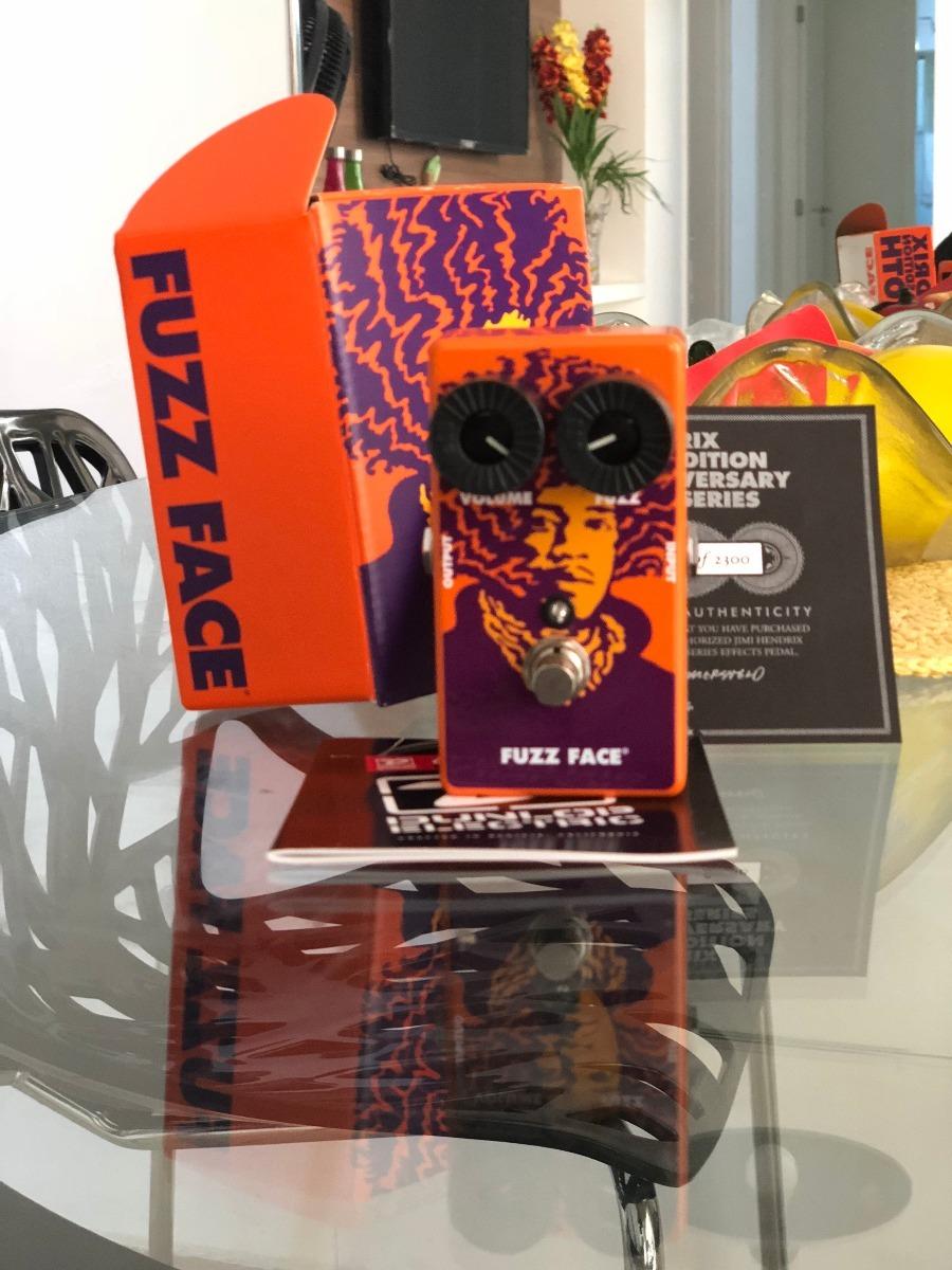 Pedal Mxr Jimi Hendrix Fuzz Face 70th Anniversary Tribute R 999 Carregando Zoom