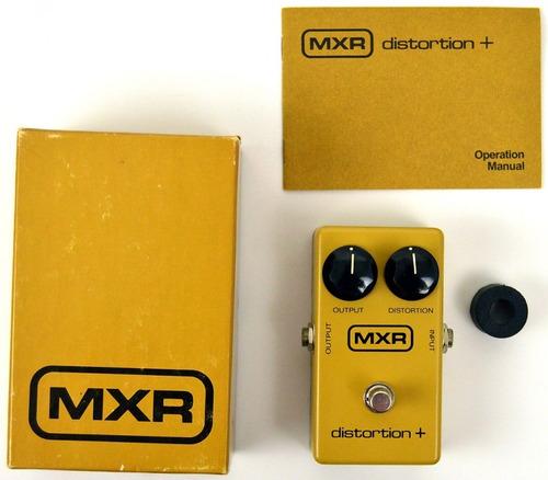 pedal mxr m104 distortion + distorsion randy rhoads