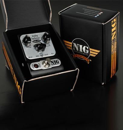 pedal nig padt pocket analog delay tap tempo + frete gratis!
