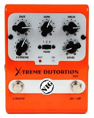 pedal nig xd1 x-extreme distortion - pd0594