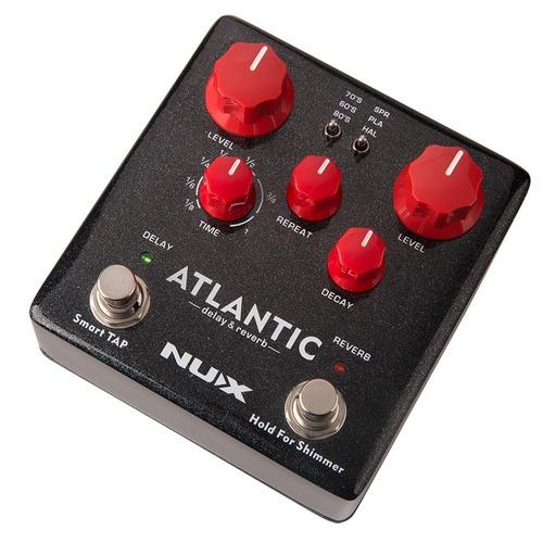 pedal nux atlantic verdugo series delay / reverb