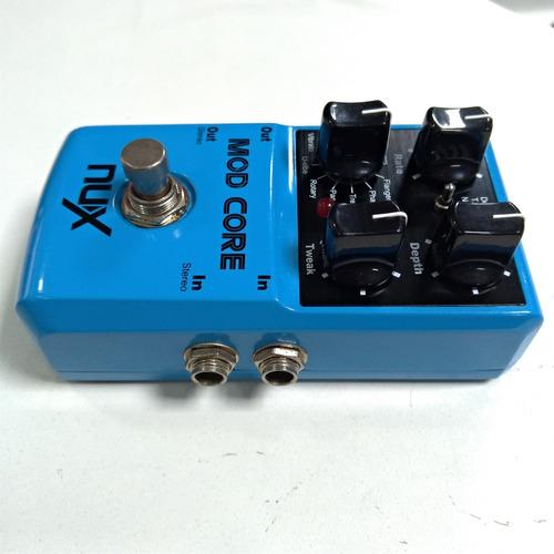 pedal nux mod core chorus usado