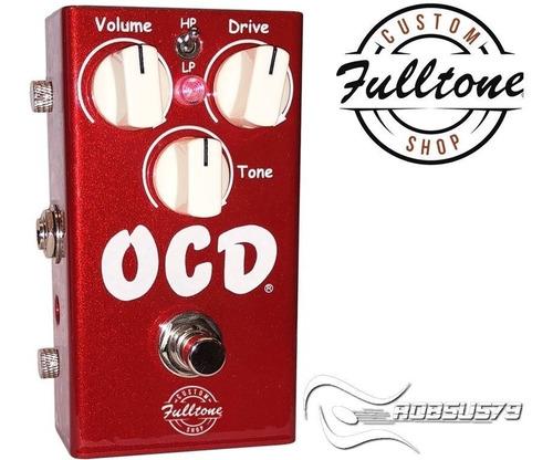 pedal ocd fulltone v2 car limited edition custom shop c/ nfe