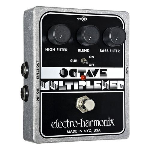 pedal octavador electro harmonix octave multiplexer
