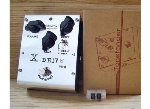 pedal over drive biyang od8 x drive análogo