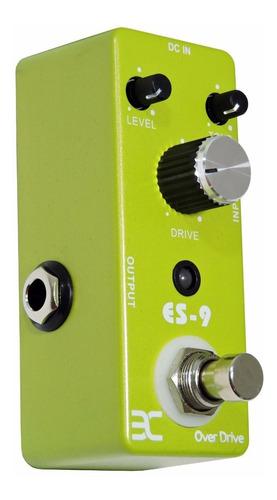 pedal over drive p/guitarra(tube screamer)-eno music tcubes9