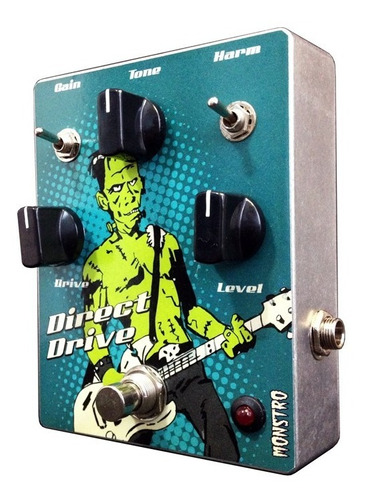 pedal overdrive direct drive tipo compact barber monstro fx