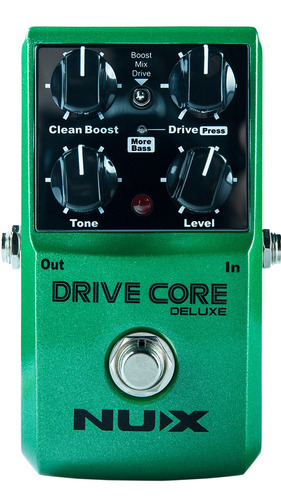 pedal overdrive nux drive core serie deluxe