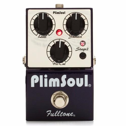 pedal overdrive plimsoul fulltone made in usa c/ nf-e