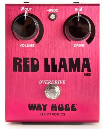 pedal overdrive  red llama