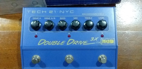pedal overdrive tech 21 nyc
