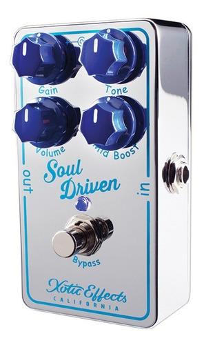 pedal overdrive xotic soul driven usa envio imediato c/ nf-e