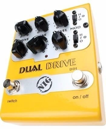 pedal overdrives nig dual drive - dd1