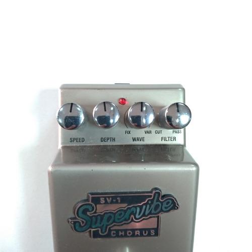 pedal p/ guitarra marshall supervibe chorus sv1 usado