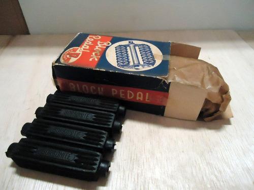 pedal pannonia dec. 50 (made in hungary) sem uso  na caixa