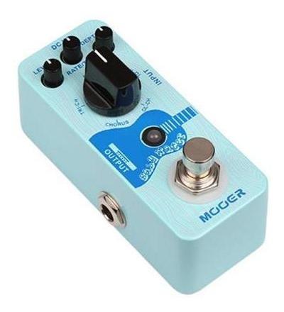 pedal para guitarra acustica delay y chorus mooer baby water
